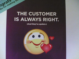 customer right by frontriver