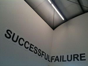 Successes are built on failures.