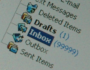a bulging inbox decreases productivity