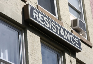 Resistance and success don't mix.